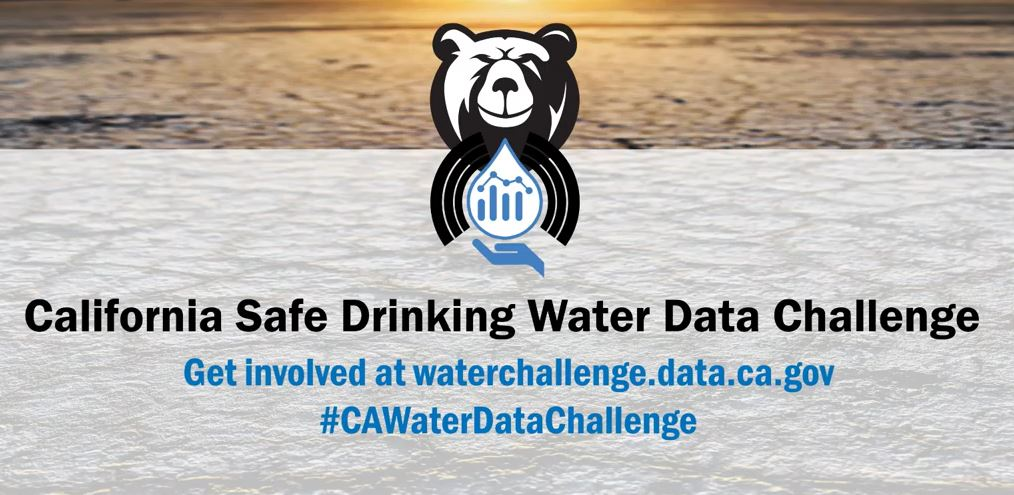 CA Safe Drinking Water Data Challenge logo